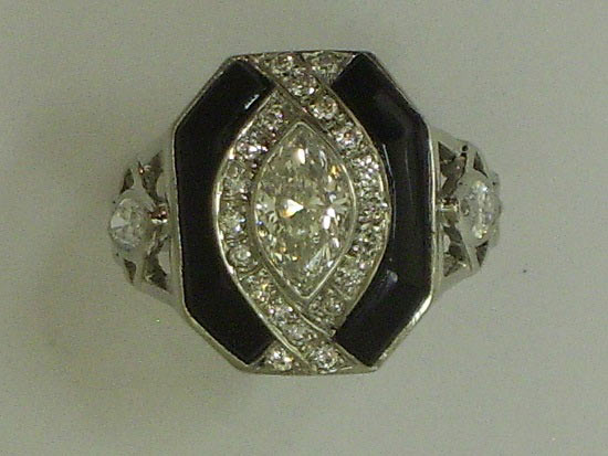 antique and deco rings