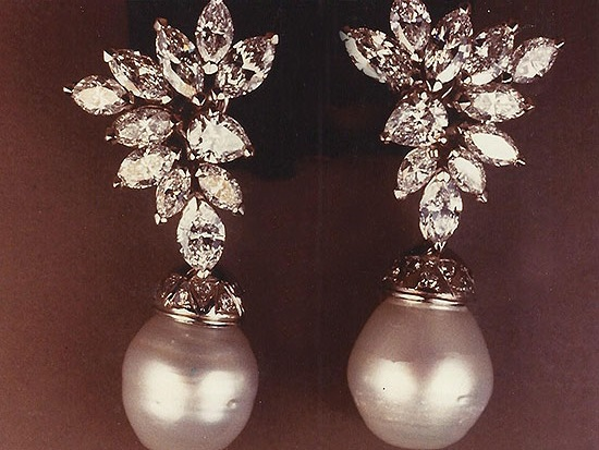 Earrings With Marquise Diamonds